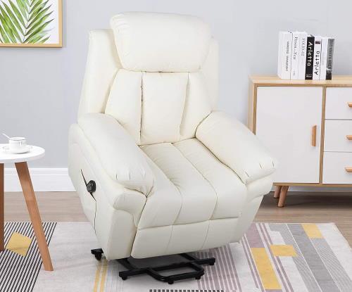 HOMCOM Relaxsessel (creme) im Sessel mit Aufstehhilfe Test