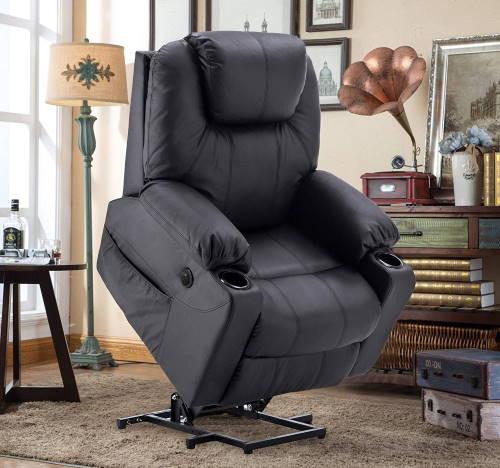 MCombo Relaxsessel (schwarz) im Fernsehsessel mit Aufstehhilfe Test
