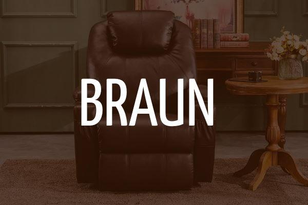 MCombo Relaxsessel (braun)
