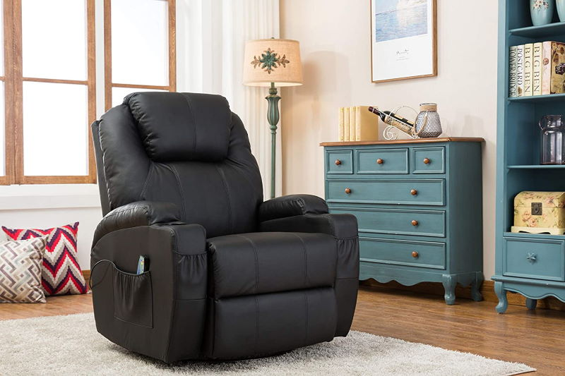 MCombo Relaxsessel (schwarz) - Preistipp im Fernsehsessel Test