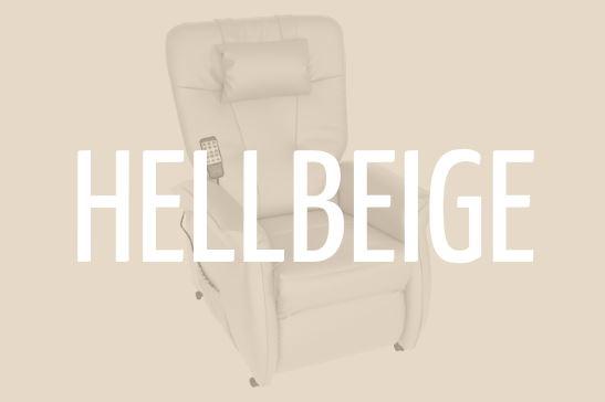 THRONER EXKLUSIV Massagesessel (hellbeige)